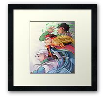Let's Fight! Framed Print