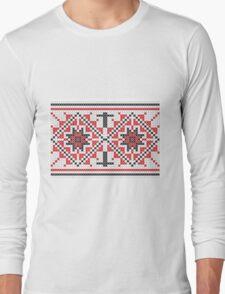 Traditional pattern illustration Long Sleeve T-Shirt