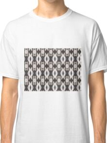 BLACK AND WHITE PATTERN Classic T-Shirt