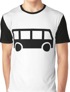 Bus icon Graphic T-Shirt