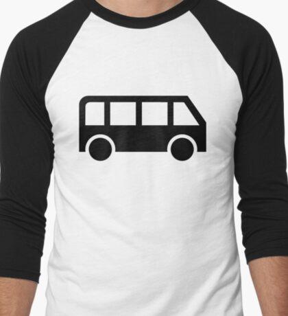 Bus icon Men's Baseball ¾ T-Shirt