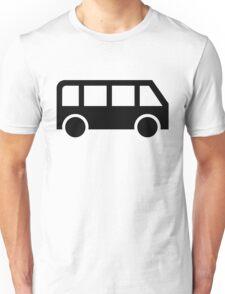 Bus icon Unisex T-Shirt