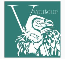 ABC-Book French Vulture Baby Tee