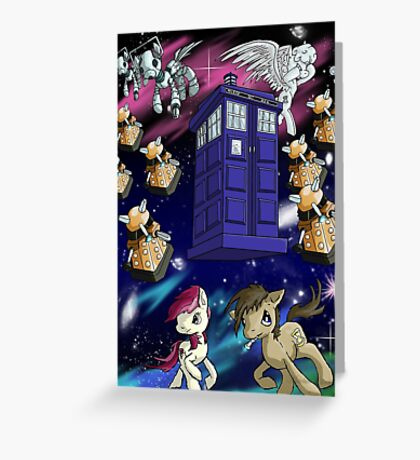 Doctor Whooves Greeting Card