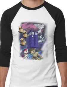 Doctor Whooves Men's Baseball ¾ T-Shirt