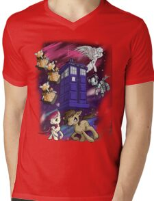 Doctor Whooves Mens V-Neck T-Shirt