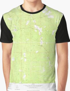 USGS TOPO Map Alabama AL Wallace 305319 1960 24000 Graphic T-Shirt