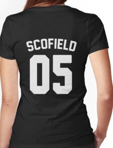 Jersey: Michael Scofield  Womens Fitted T-Shirt