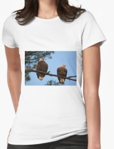 The Ackley Pair Womens Fitted T-Shirt