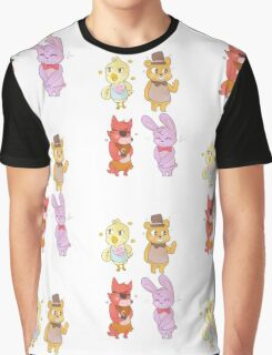 fnaf animal crossing villagers! Graphic T-Shirt