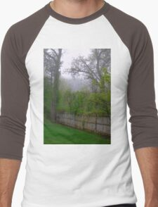 The Fence Keeps Out the Fog Men's Baseball ¾ T-Shirt