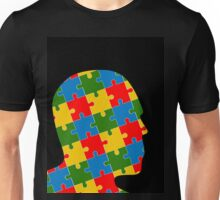 puzzle head design Unisex T-Shirt
