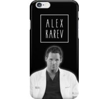 Alex Karev iPhone Case/Skin