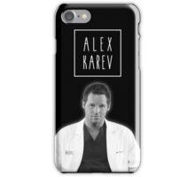 Alex Karev iPhone Case/Skin