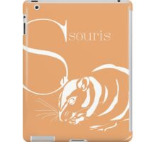 ABC-Book French Mouse iPad Case/Skin