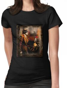 Obscure Affair Womens Fitted T-Shirt