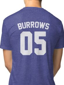 Jersey: Lincoln Burrows Tri-blend T-Shirt