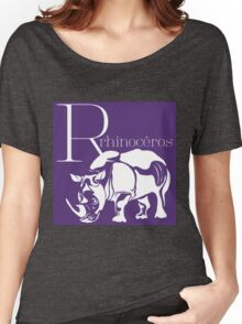 ABC-Book French Rhinoceros Women's Relaxed Fit T-Shirt