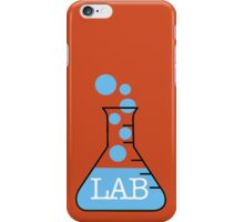 Lab Bike Logo iPhone Case/Skin