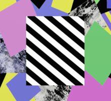 Crazy Squares Sticker