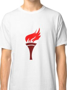 Flaming torch art Classic T-Shirt
