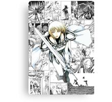 Claymore Clare Canvas Print