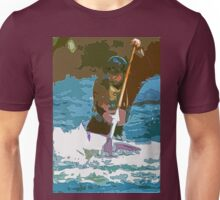 Physical exertion in canoeing 10 (c)(h) transformed how Picasso painting Unisex T-Shirt