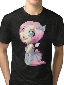 Portal: Companion Cube Tri-blend T-Shirt