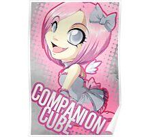 Portal: Companion Cube Poster