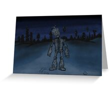 Robot Boy  Greeting Card