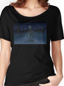 Robot Boy  Women's Relaxed Fit T-Shirt