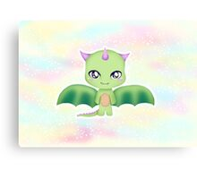 Kawaii Dragon  Canvas Print