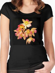 ORCHID 4 Women's Fitted Scoop T-Shirt
