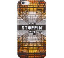 Orange NYC SkyScraper iPhone Case/Skin