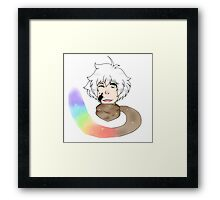 Human inktale sans Framed Print