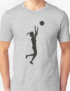 Women basketball sport Unisex T-Shirt