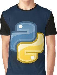 Python logo Graphic T-Shirt