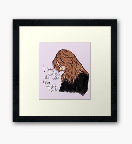 Kate Beckett Framed Print