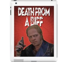 Death from a Biff! iPad Case/Skin