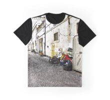 L'Aquila: street with household goods Graphic T-Shirt