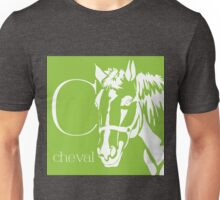 ABC-Book French Horse Unisex T-Shirt
