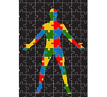 puzzle human body Photographic Print