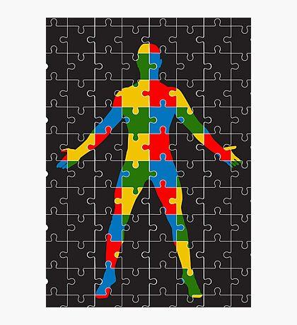 puzzle human body Photographic Print