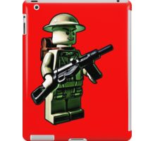 Don't panic and soldier on!  iPad Case/Skin
