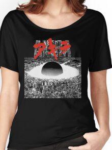 AKIRA - PIXEL / 8-BIT LOGO TSHIRT (HIGH QUALITY) Women's Relaxed Fit T-Shirt