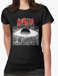 AKIRA - PIXEL / 8-BIT LOGO TSHIRT (HIGH QUALITY) Womens Fitted T-Shirt