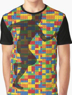 Lego - human body - running man  Graphic T-Shirt