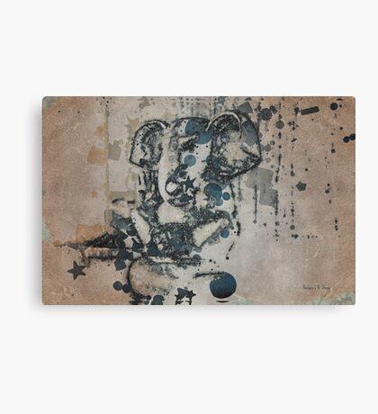 Ganesha - Vintage Style  Canvas Print