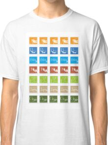 ABC-Book French Stamps #3 Classic T-Shirt