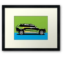 pop art car Framed Print